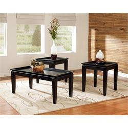 ASHLEY 3PC COFFEE/END TABLE SET (DELORMY) T131-13 Image