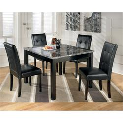 ASHLEY 5PC COUNTER HEIGHT DINETTE (MAYSVILLE) D154-223 Image