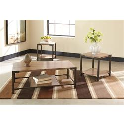 ASHLEY 3PC COFFEE/END TABLE SET (DEXIFIELD) T209-13 Image