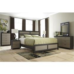 ASHLEY 5PC KING SIZE BEDROOM SET (WELLATOWN) B142-5PC KING Image