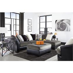ASHLEY 2PC SECTIONAL w/ OTTOMAN (ARMANT) 2020008,17,66 Image
