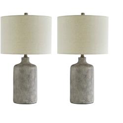 ASHLEY PAIR OF LAMPS (LINUS) L117964 Image